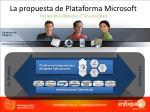 la propuesta de plataforma microsoft haciendo el dynamic it una realidad