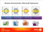 nuevas herramientas microsoft expression