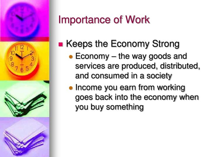 Importance of Work