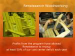 renaissance woodworking