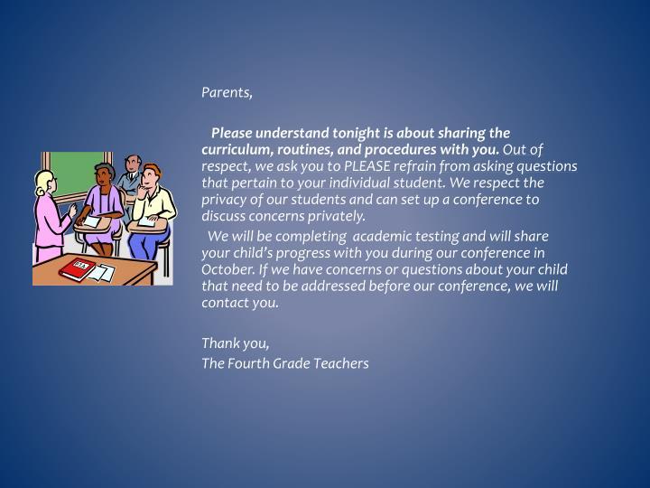 Parents,