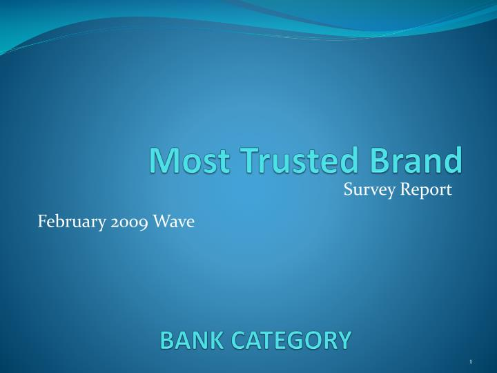 Bank category