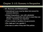chapter 3 u s economy in perspective20