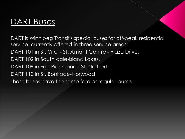 DART Buses