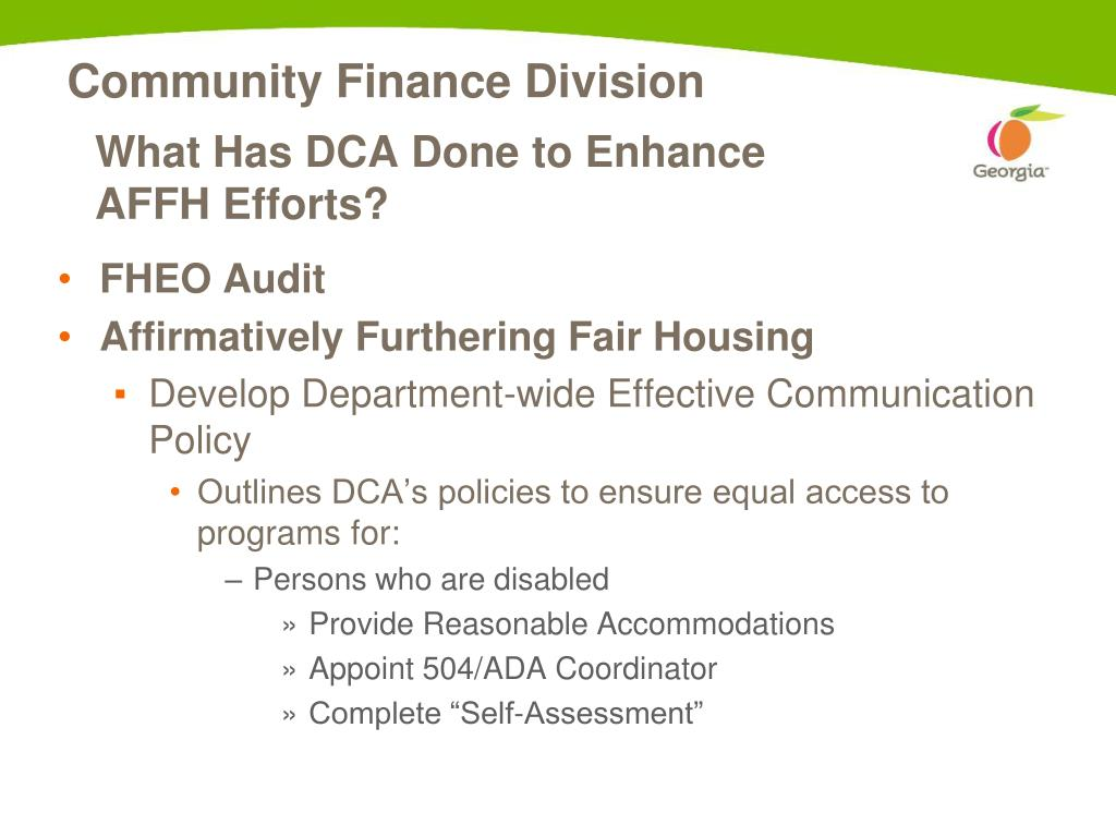 PPT - Fair Housing/Equal Opportunity PowerPoint Presentation