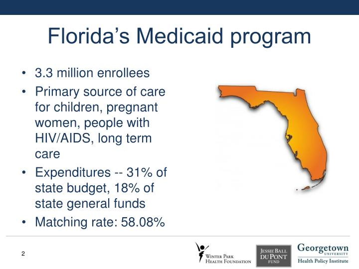 Florida s medicaid program