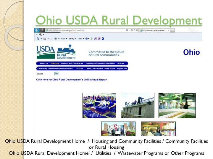 Ohio USDA Rural Development