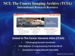 nci the cancer imaging archive tcia international research resource