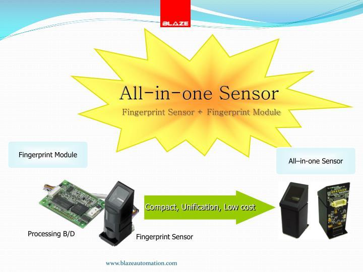 All-in-one Sensor