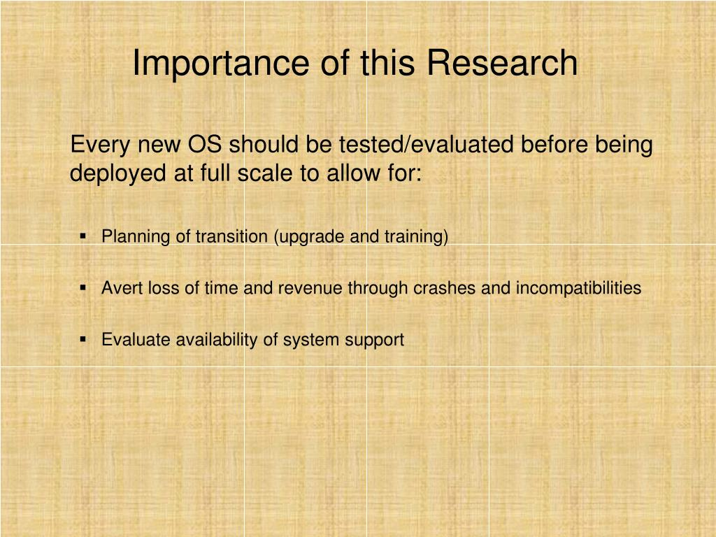 PPT - Evaluation of Windows 7 RC Build 7100 PowerPoint