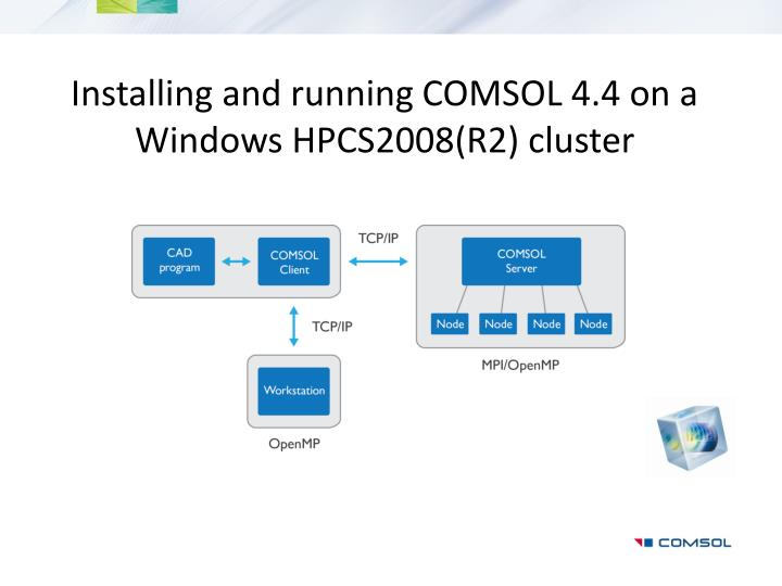 PPT - Installing and running COMSOL 4 4 on a Windows