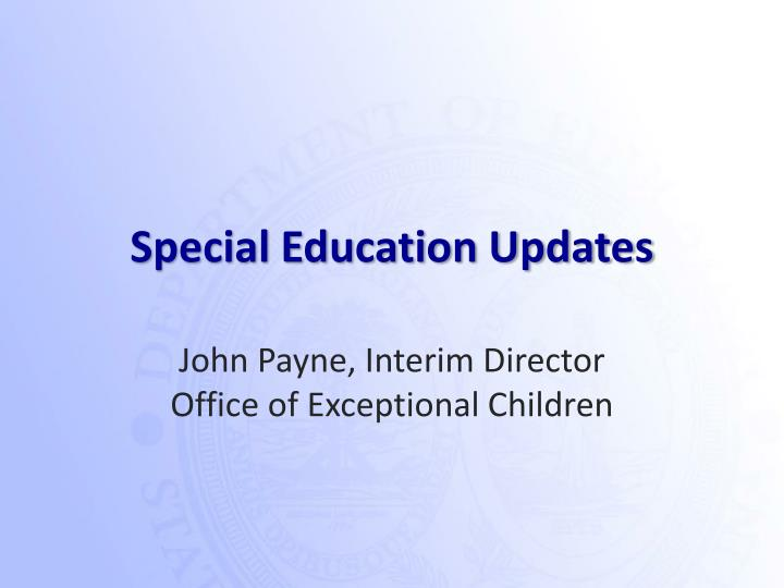 investigating special education Investigating special education internet resources i) create an annotated list of special education web sites research - answered by a verified writing tutor.