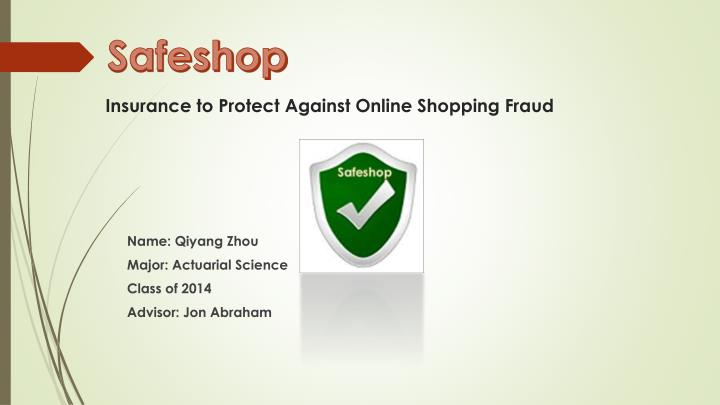 insurance to protect against online shopping fraud n.