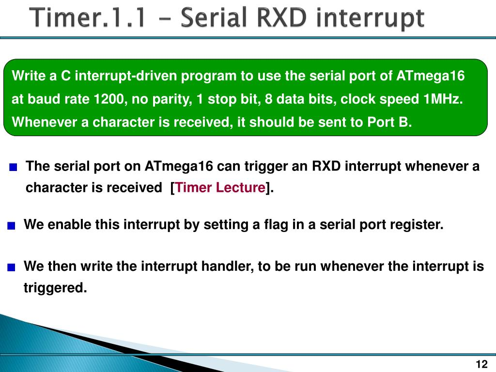 PPT - EE138 Timers PowerPoint Presentation - ID:1574534