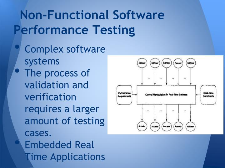 Non-Functional Software Performance Testing