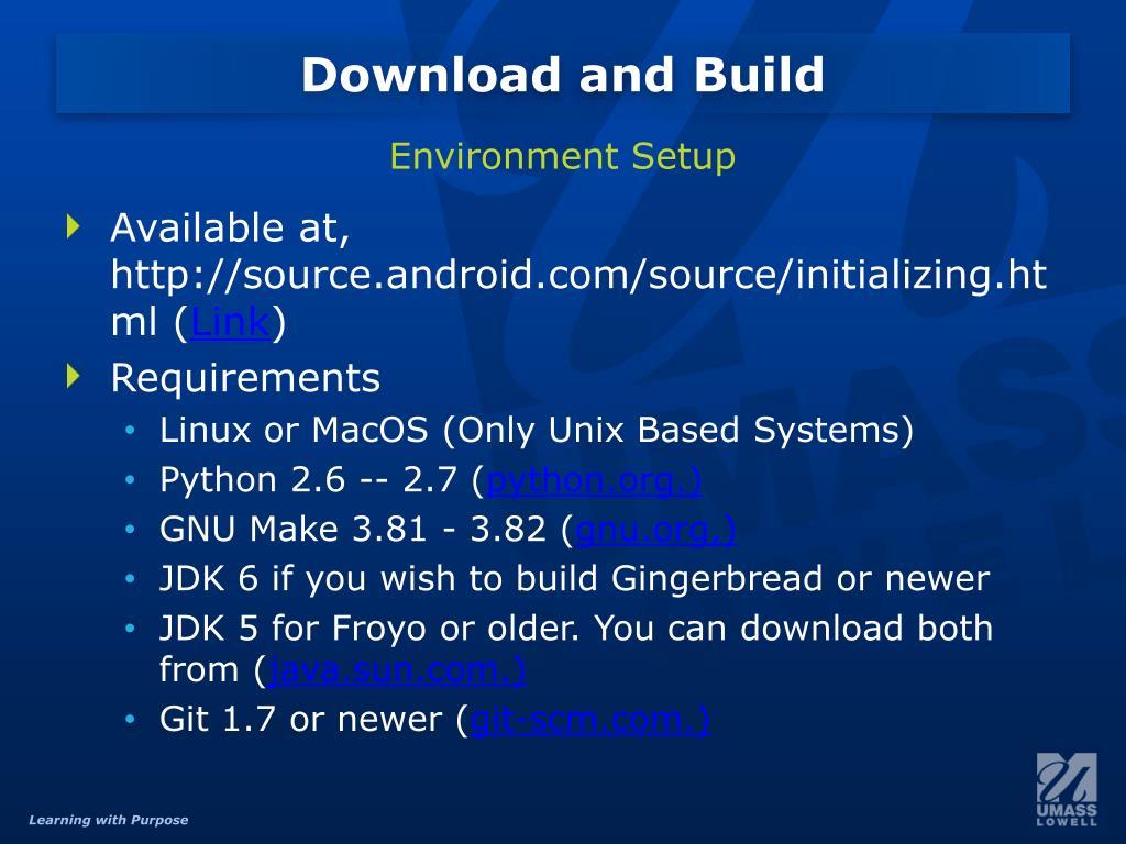 PPT - Android OS Development What Lies Beyond SDK