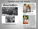 families and life events