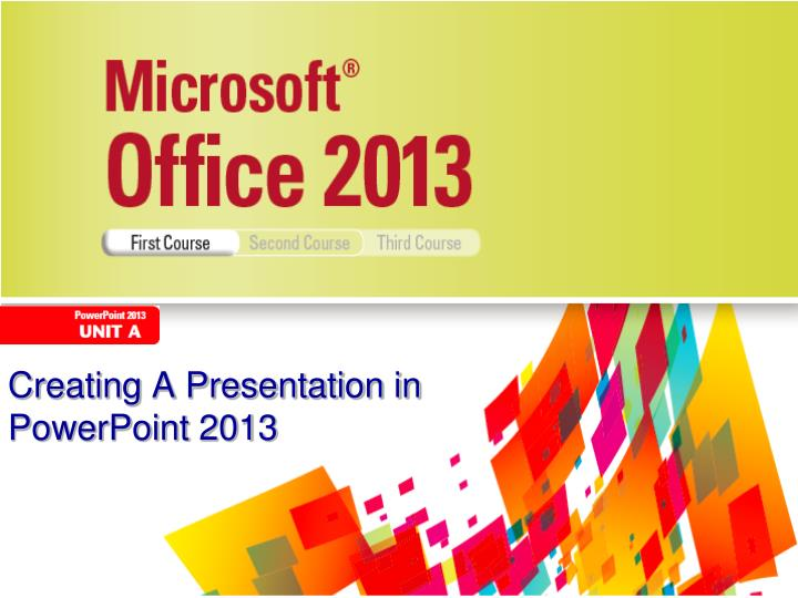 creating a presentation in powerpoint 2013 n.