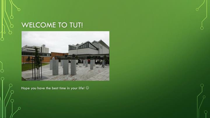 Welcome to TUT!