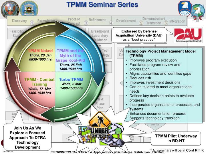TPMM Seminar Series