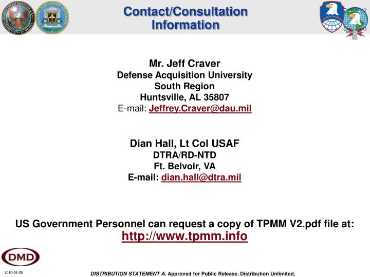 Contact/Consultation