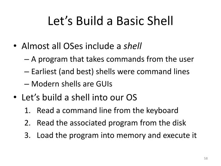 Let's Build a Basic Shell