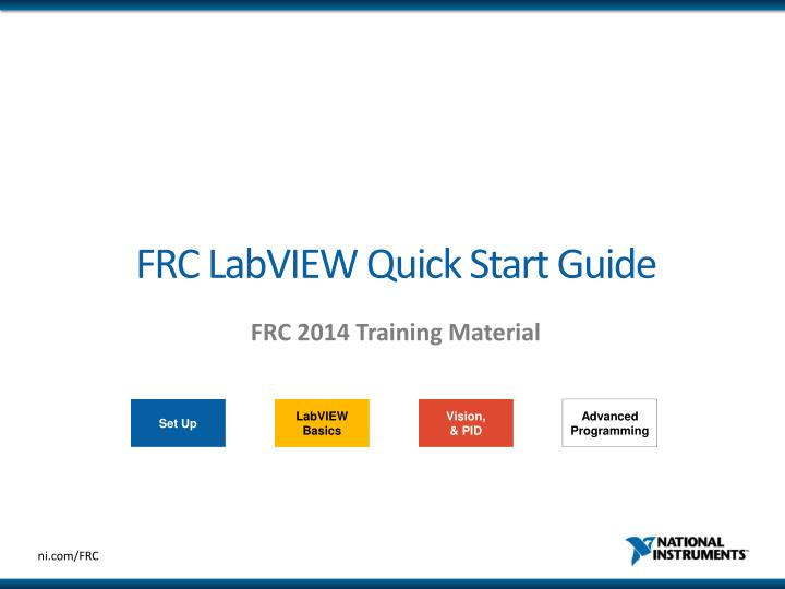 frc labview quick start guide n.