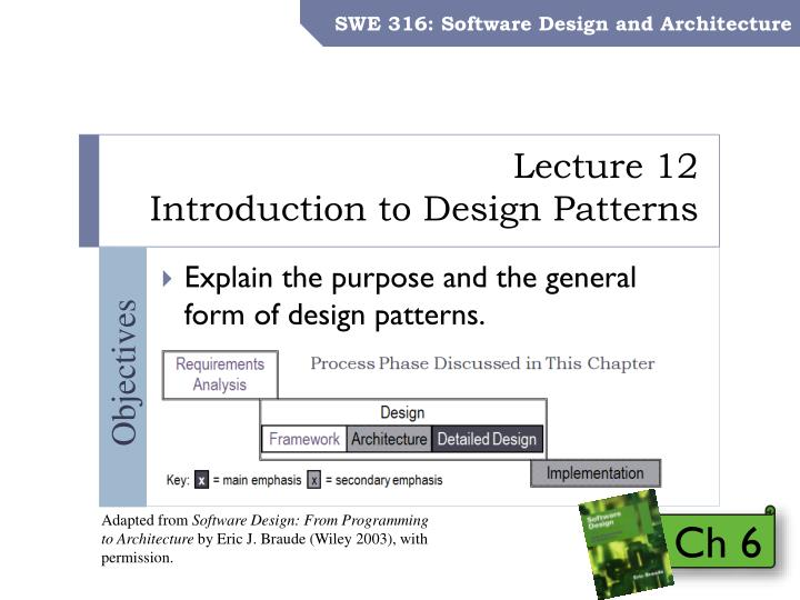 Ppt Lecture 12 Introduction To Design Patterns Powerpoint Presentation Id 1575095