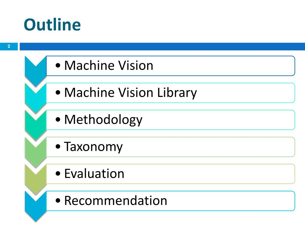PPT - Capabilities of Machine Vision Libraries PowerPoint