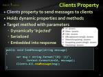 clients property