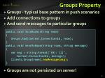 groups property