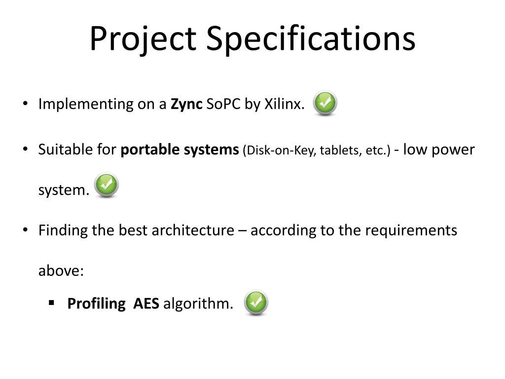 PPT - Final presentation Encryption/Decryption on embedded system