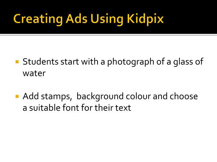Creating Ads Using