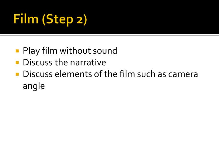 Film (Step 2)