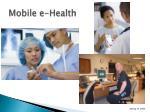 mobile e health