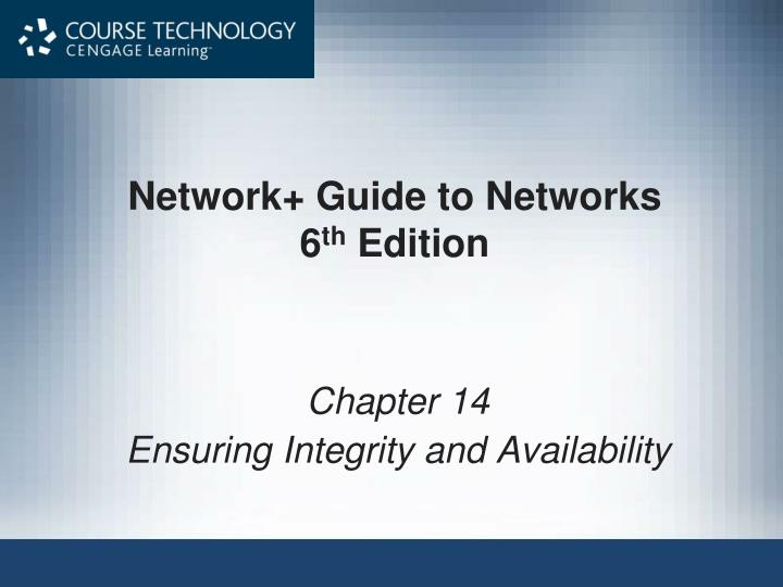 PPT Network Guide To Networks 6 Th Edition PowerPoint