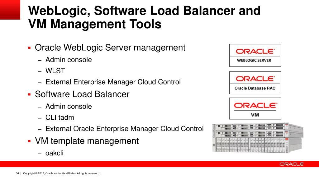 PPT - WebLogic on Oracle Database Appliance: Combining high