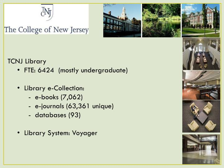TCNJ Library