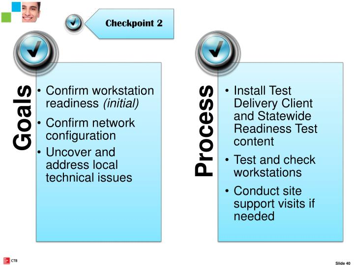 Checkpoint 2 – Site Readiness