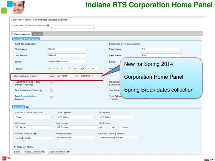 Indiana RTS Corporation