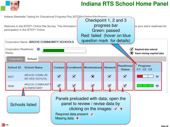 Indiana RTS School