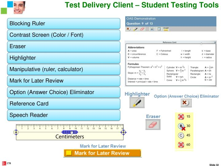 Student Testing Tools and Accommodations