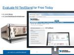 evaluate ni teststand for free today