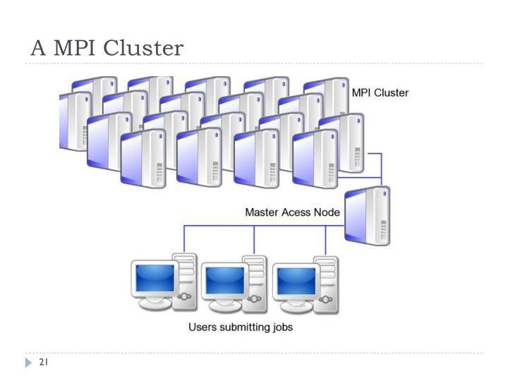 A MPI Cluster