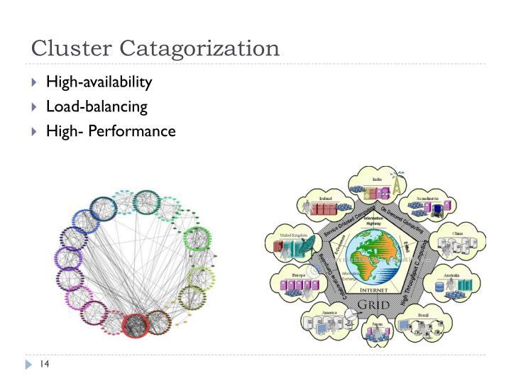 Cluster Catagorization
