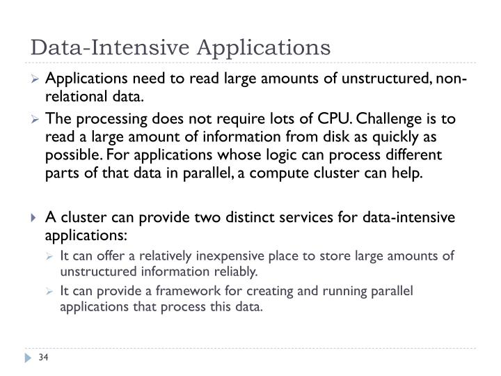 Data-Intensive Applications