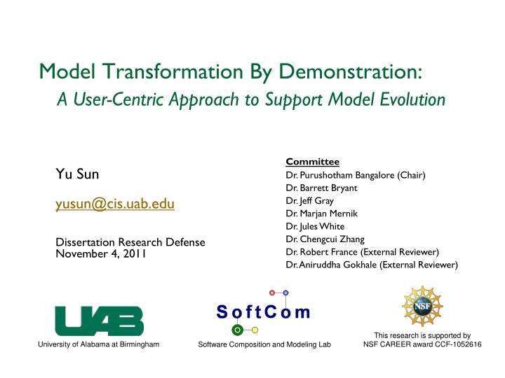 model transformation by demonstration a user centric approach to support model evolution n.