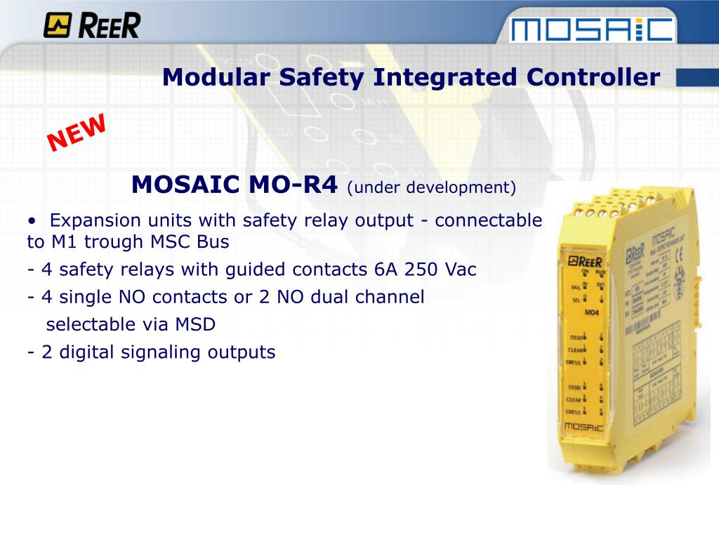 PPT - Modular Safety Integrated Controller PowerPoint