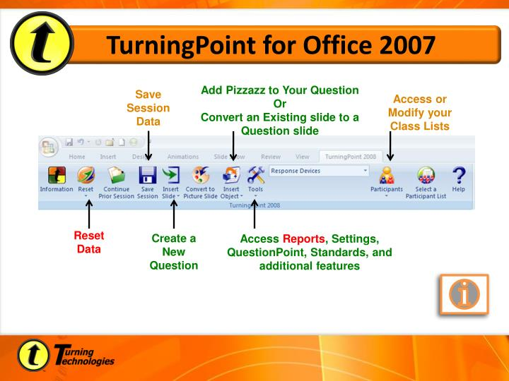 TurningPoint for Office 2007