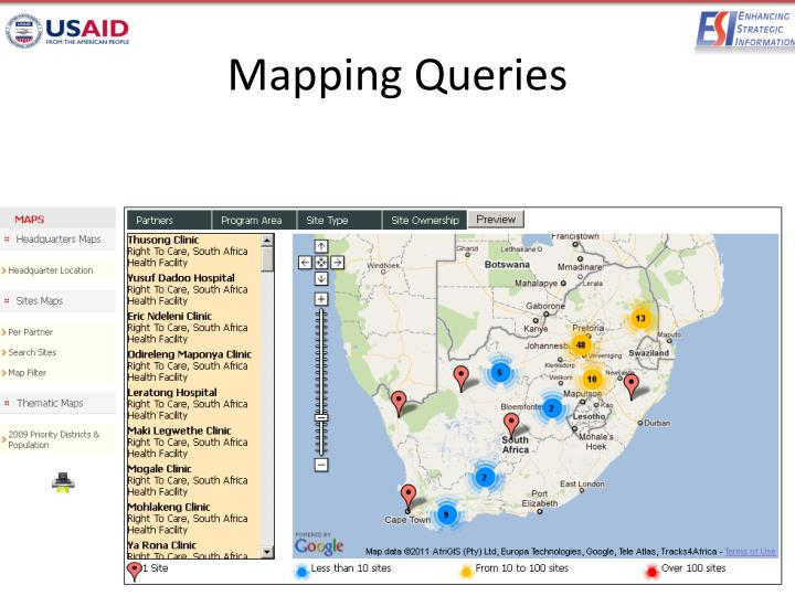 Mapping Queries